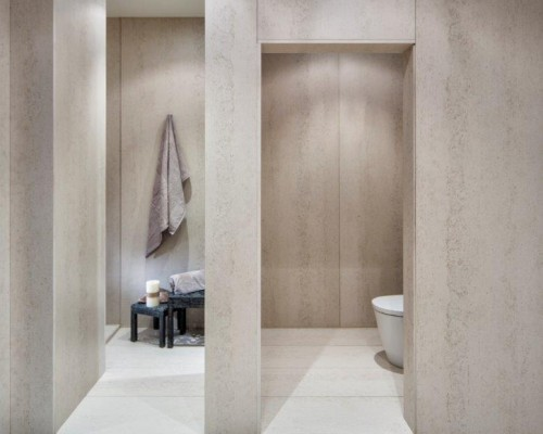 Ultra compact Surface Shower Walls