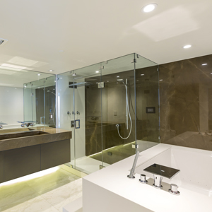Neolith Ultra Compact Shower Walls