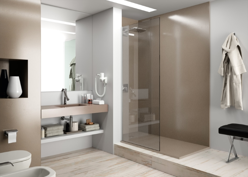 Groutless Shower Walls and Floors - Verona Showers