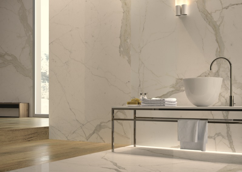 Grouless Bath Walls And Floors In Porcelain